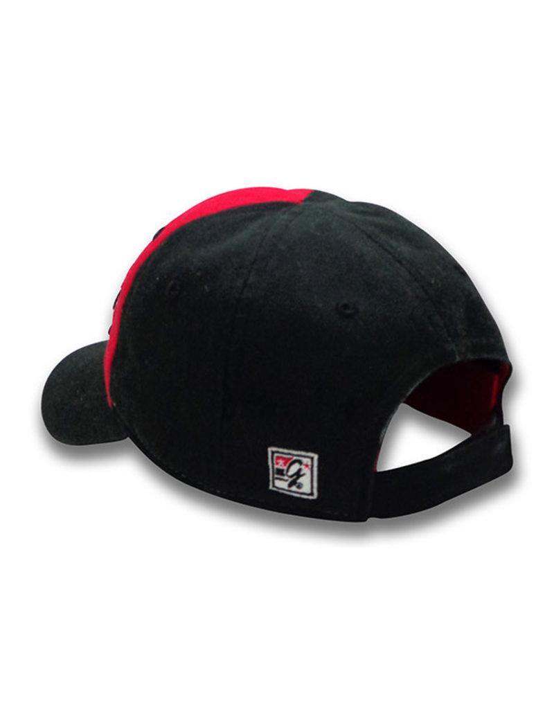 The Game 1700 Toddler Red/Black Cap