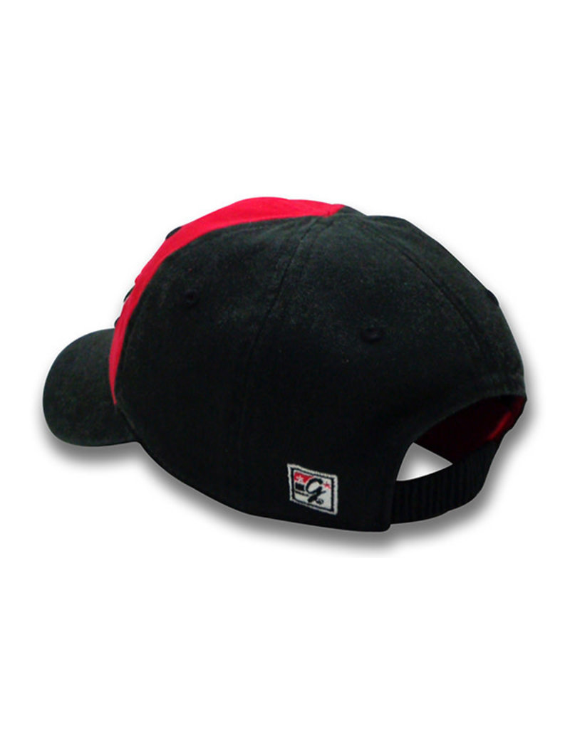 The Game 1701 Infant Red/Black Cap