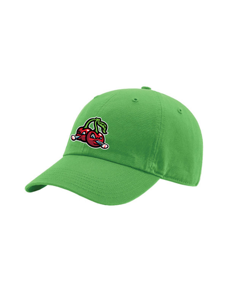 1602 Youth Lime Unstructured Cherries Cap