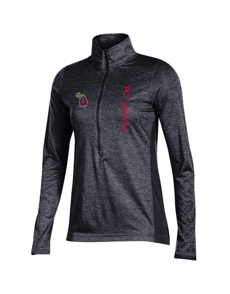 Champion 3740 Ladies Marathon Deep Zip H.Black