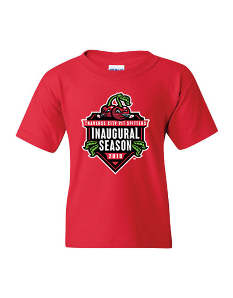 2815 Youth Inaugural Season Red Tee