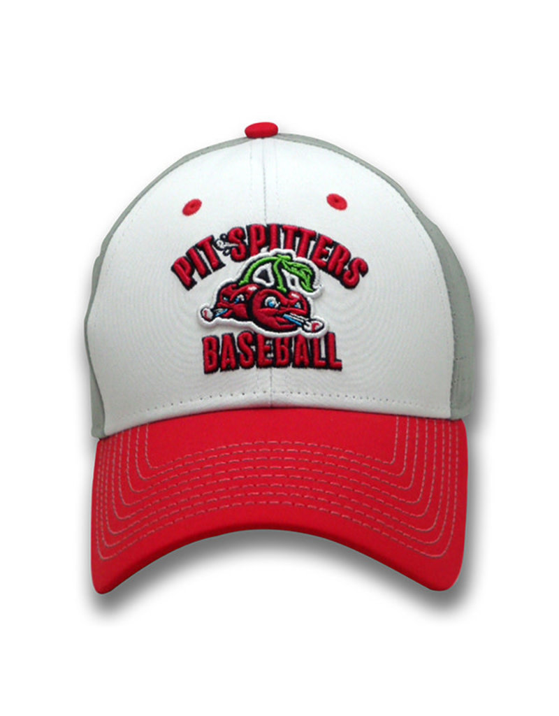 The Game 1234 Game Changer Structured Perf White/Grey/Red Cap