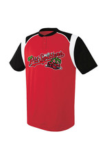 High 5 3850 Youth Wildcard Red/Black Jersey