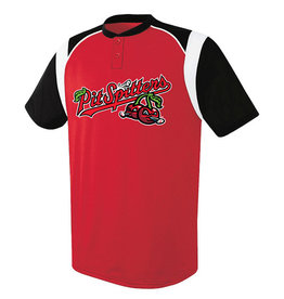High 5 Youth Wildcard Red/Black Jersey