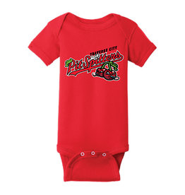 Rabbit Skins Infant Red Onesie