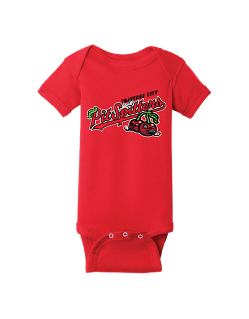 Rabbit Skins 2951 Infant Red Onesie