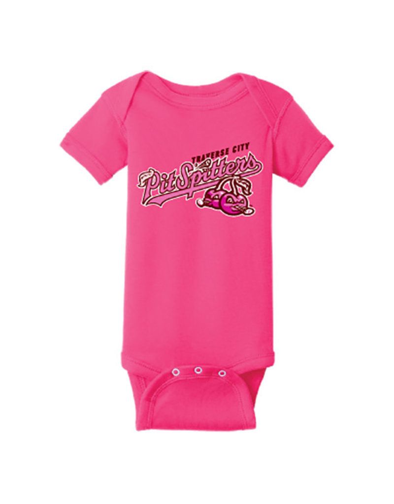 Rabbit Skins 2952 Infant Raspberry Onesie