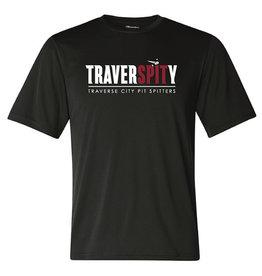 Champion TraverSPITy Black Performance Tee