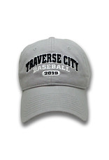 The Game 1224 Grey Arch 2019 Washed Twill Cap