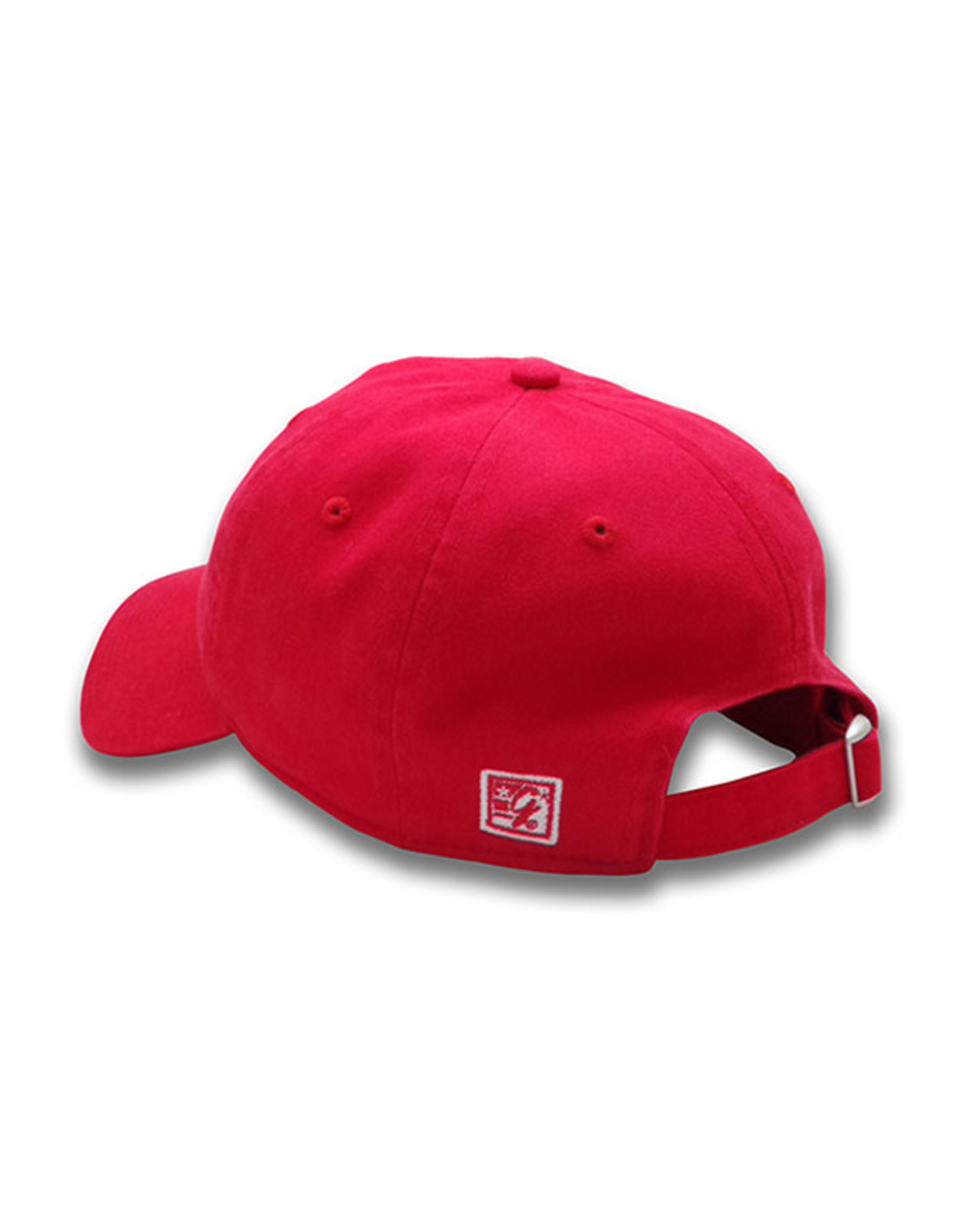 The Game 1225 Red Tree Logo Washed Twill Cap