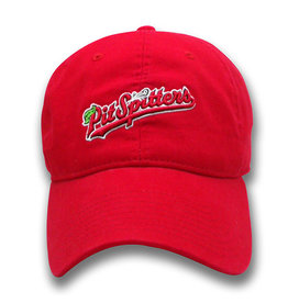 The Game Ladies Garment-Wash Script Logo Red Cap