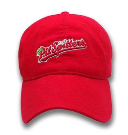 The Game Ladies Garment-Wash Script Logo Red Cap