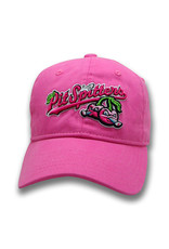 The Game 1671 Youth Garment-Washed Pink Cherries Cap