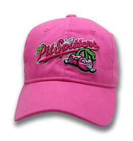 The Game Youth Garment-Washed Pink Cherries Cap