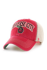 '47 Brand 1213 Tuscaloosa Arch Red/Khaki Mesh Clean Up Cap