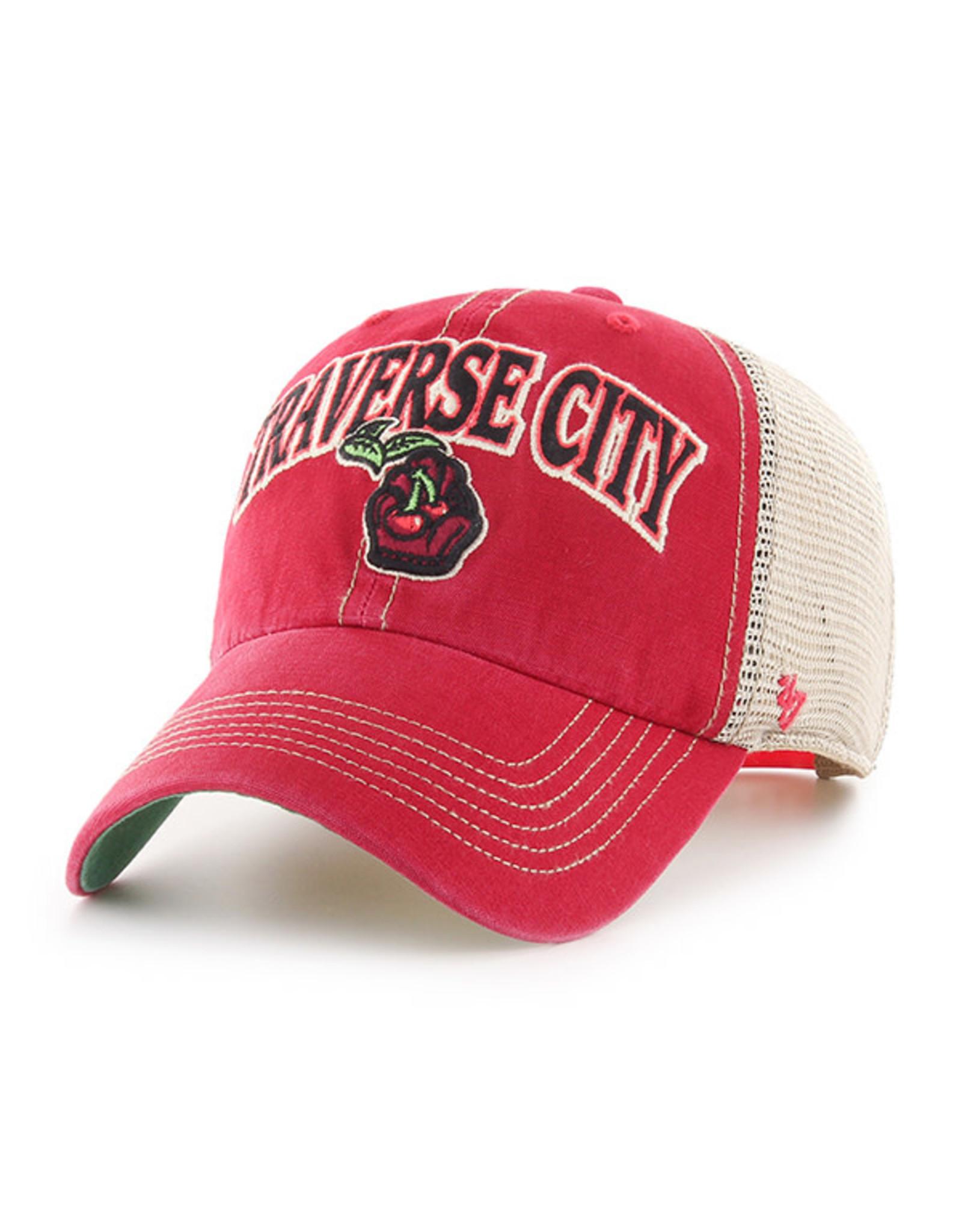 '47 Brand 1213 Tuscaloosa Arch Red/Khaki Mesh Clean Up Cap