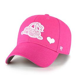 '47 Brand 1670 Girls Pink Sugar Sweet Cap
