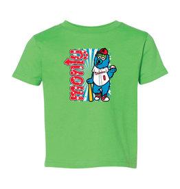 Toddler Monty Mascot Green Tee