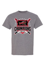 2035 2019 Champions Graphite Tee CLEARANCE