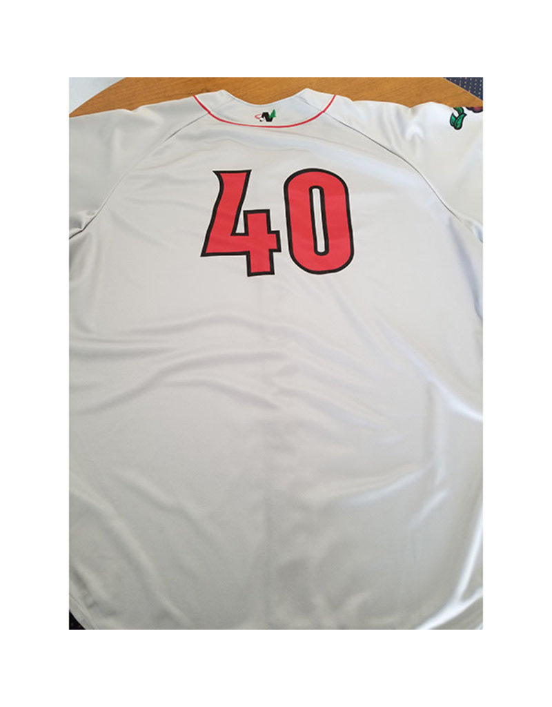 Rawlings 3826 Road Authentic Player Game Jersey