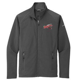 Eddie Bauer Smooth Base Layer Full Zip Grey Jacket