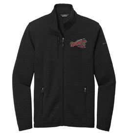 Eddie Bauer Black Sweater Fleece Full Zip Jacket