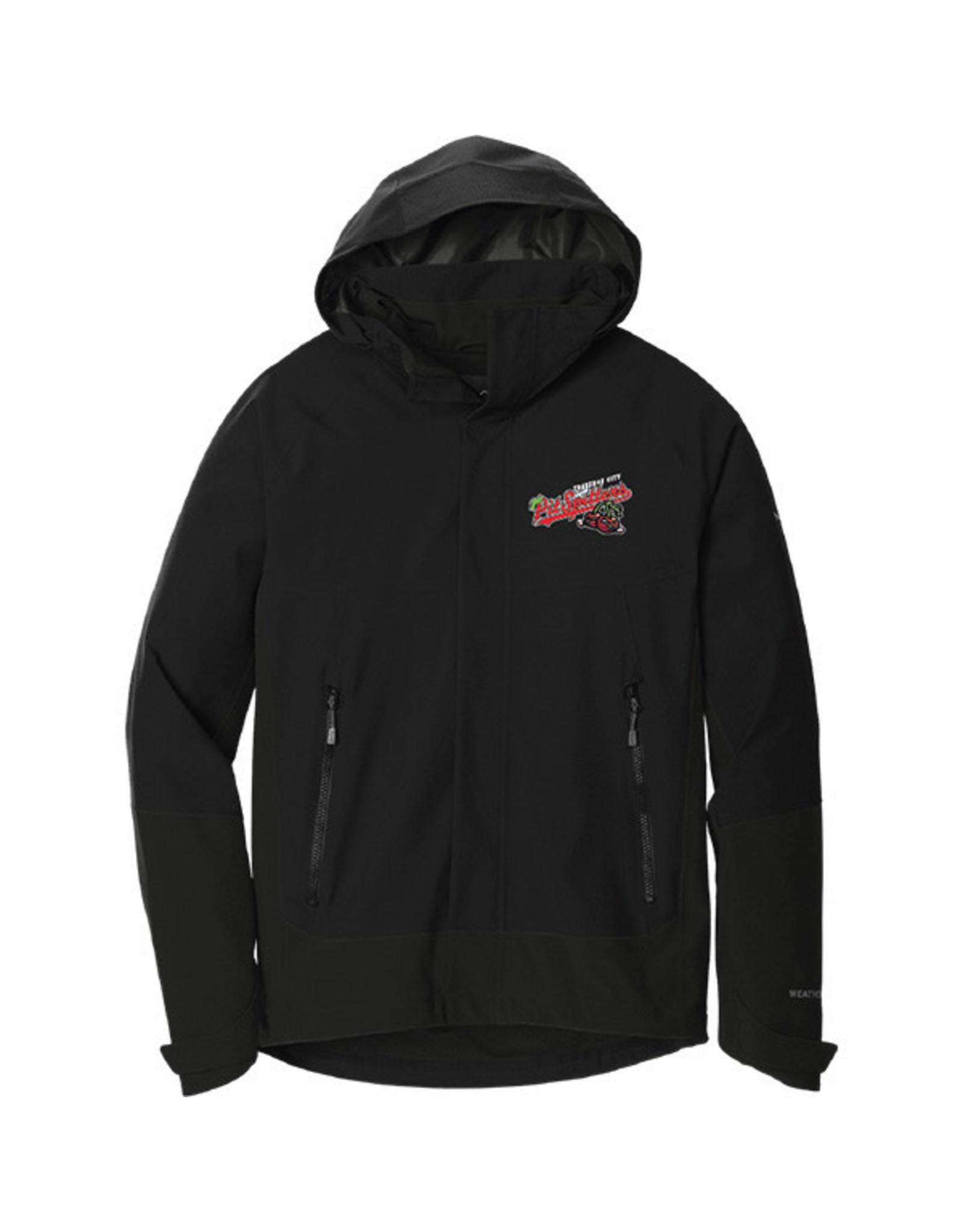 3703 Eddie Bauer Weather Edge Hooded Full Zip Jacket