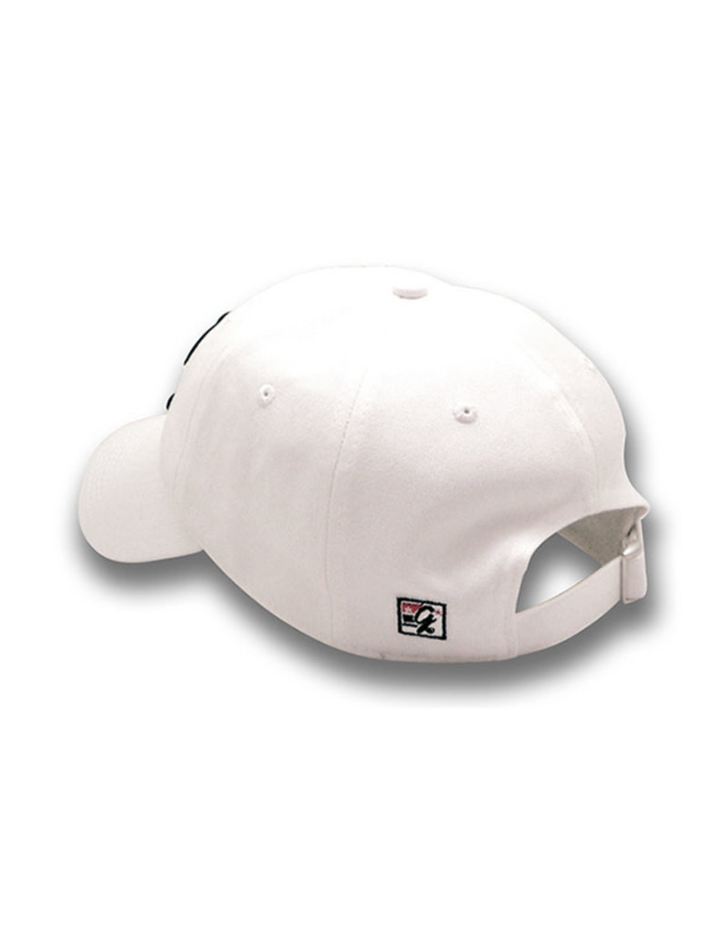The Game 1221 White Cherries Logo Washed Twill Cap