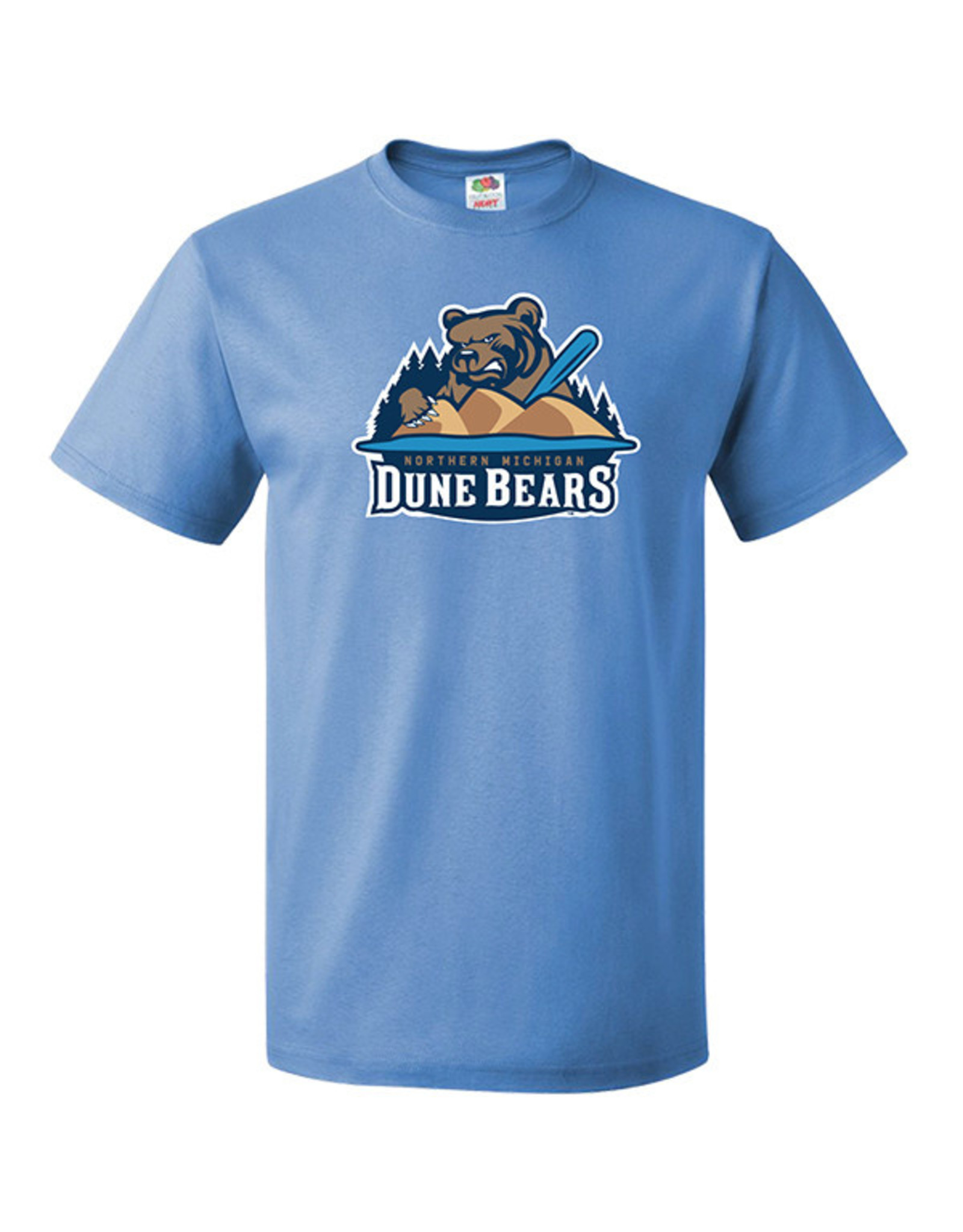 2531 Dune Bears Columbia Blue Tee