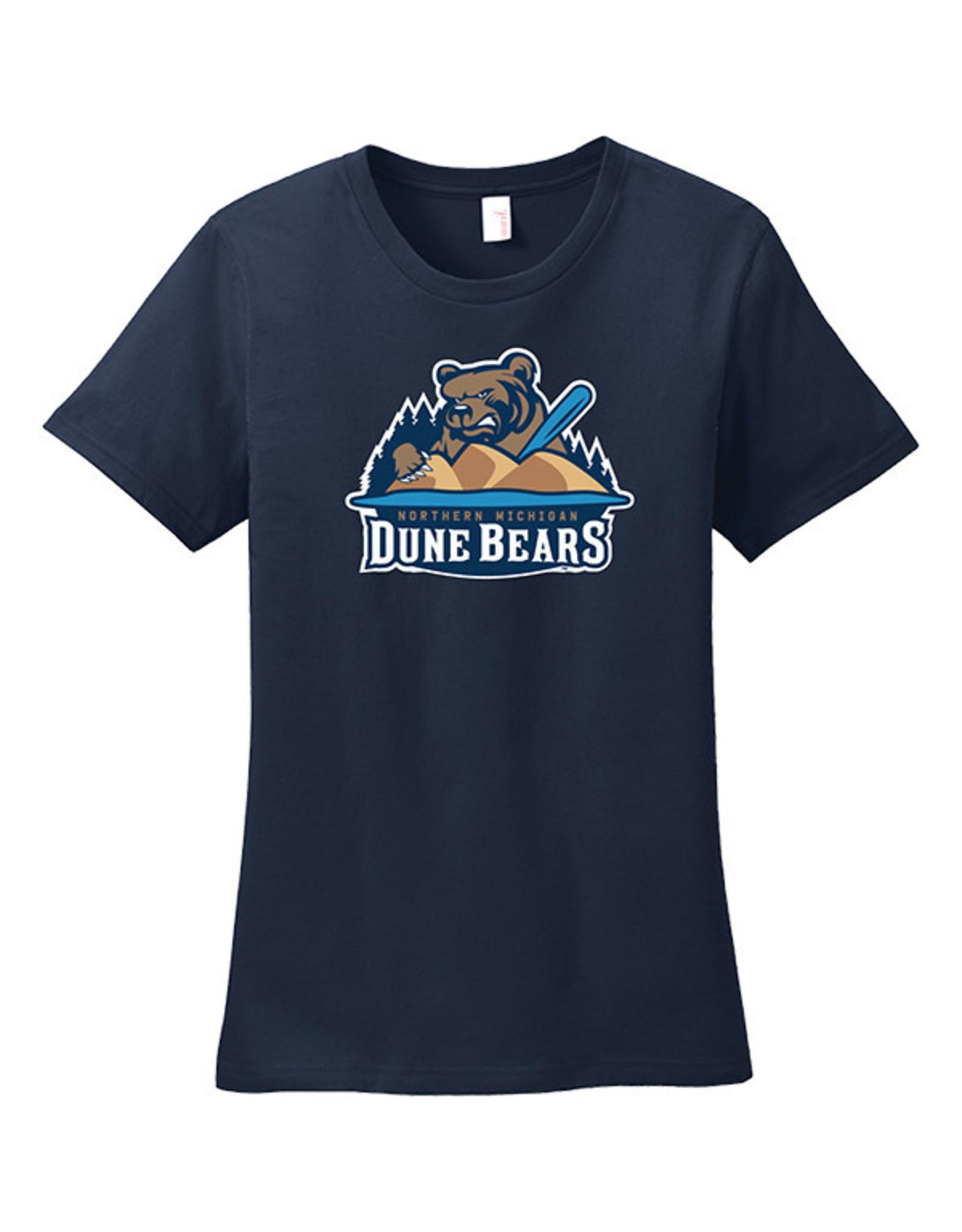 2700 Ladies Dune Bears Navy Tee