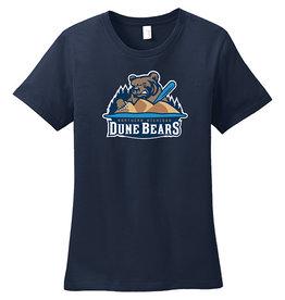 Ladies Dune Bears Navy Tee