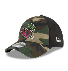 New Era 3930 Neo Woodland Camo Cap