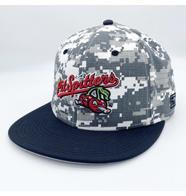 The Game Digital Camo White/Black Cap