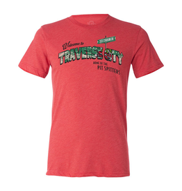 Triblend Postcard Red Tee