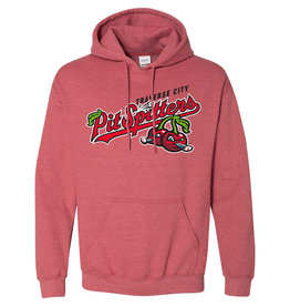 Primary Logo Heather Red Hoodie