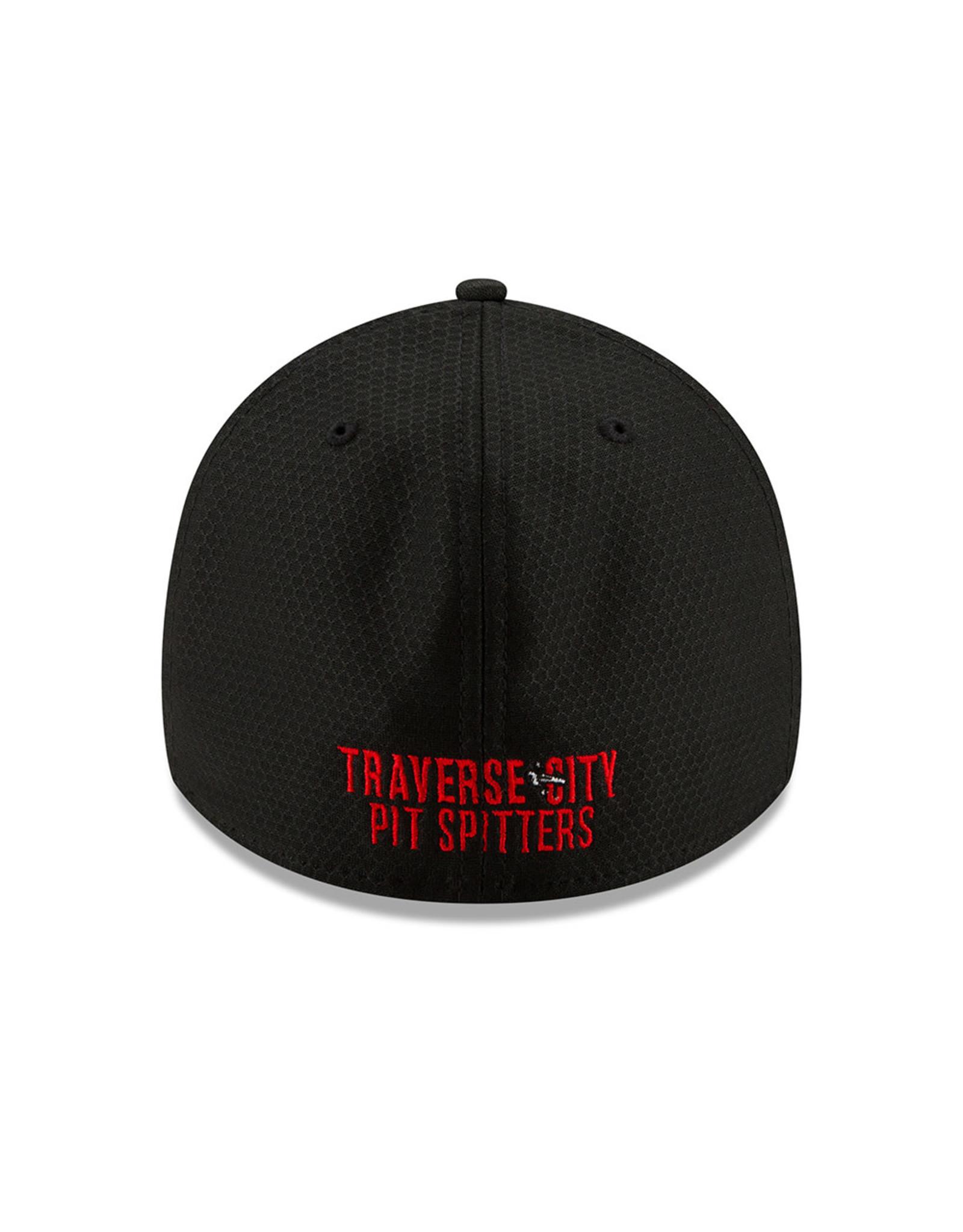 New Era 1133 Rush Black/Red 3930 Cap