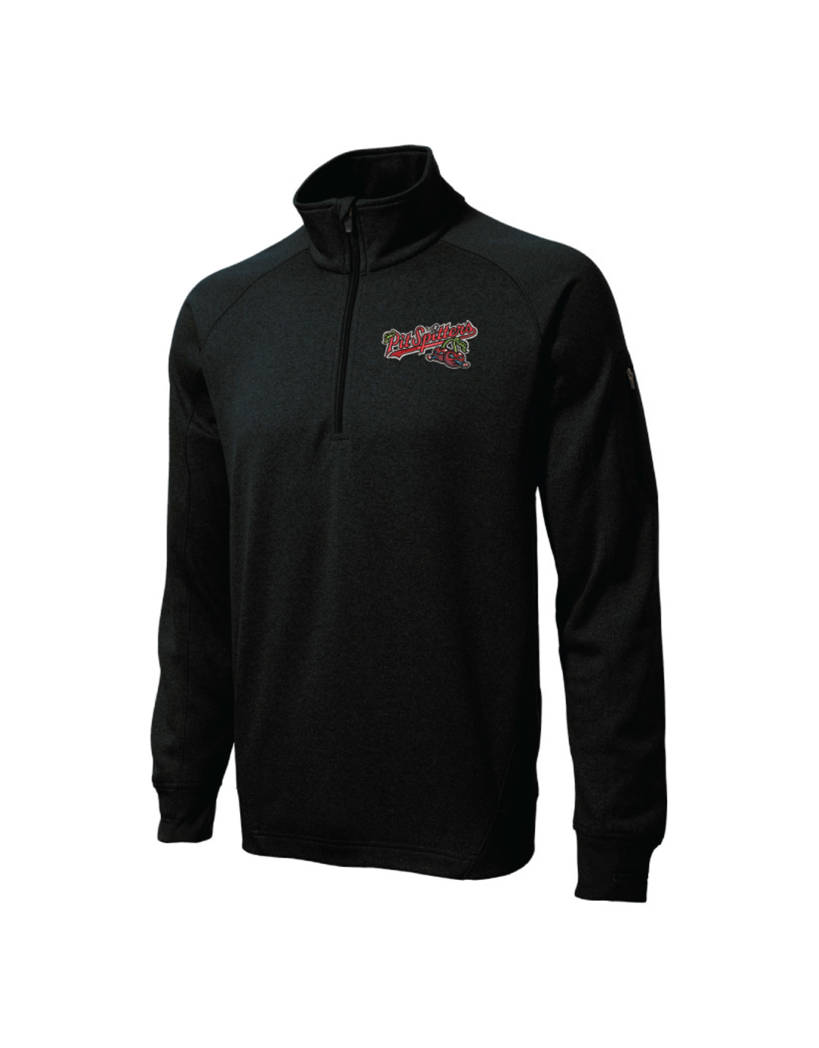 3700 Sport-Tek 1/4 Zip Black Pullover