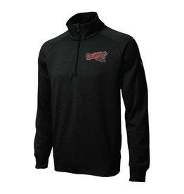 Sport-Tek 1/4 Zip Black Pullover
