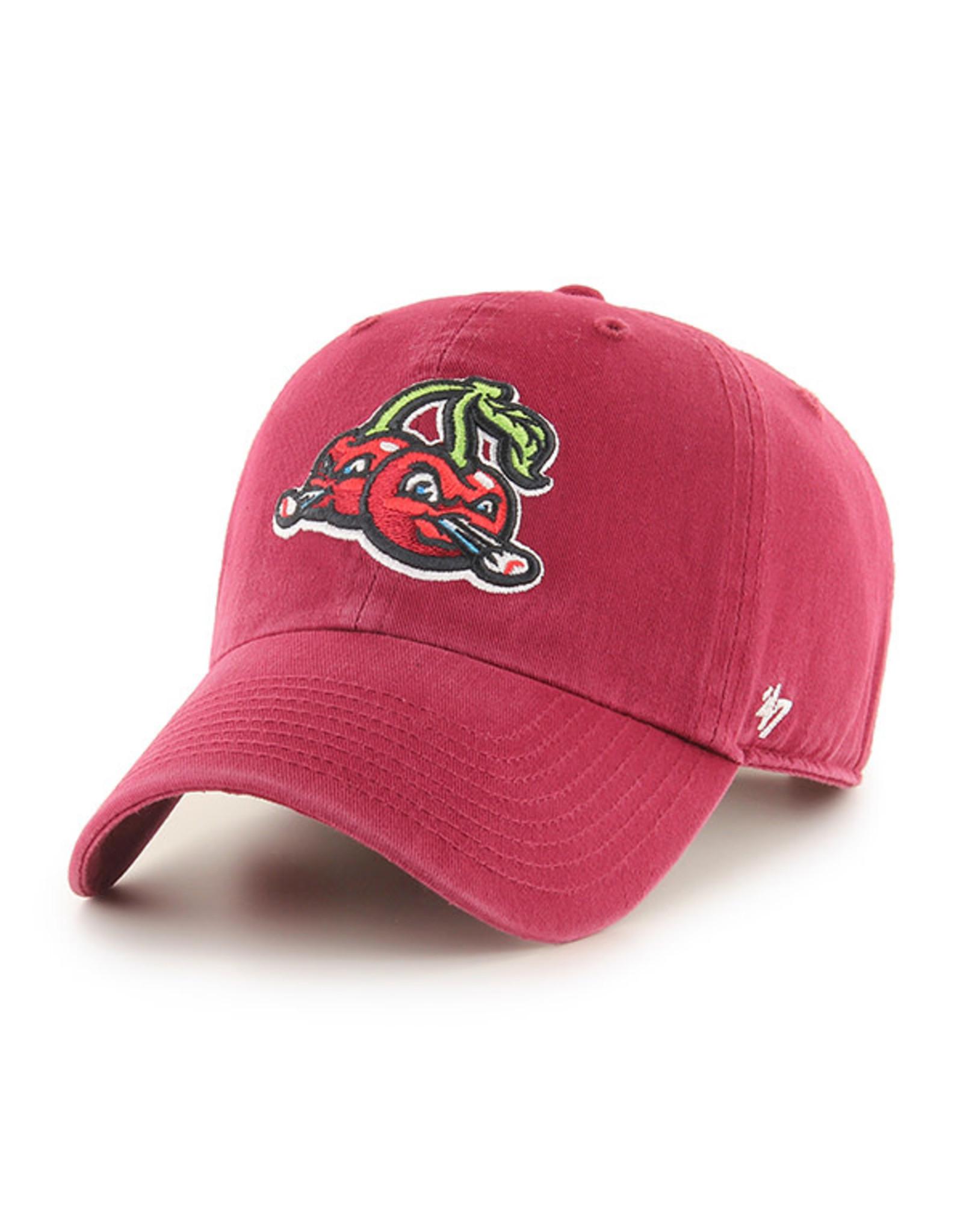 '47 Brand 1215 Dark Red Clean Up Cap