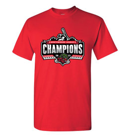 Champions Red Tee
