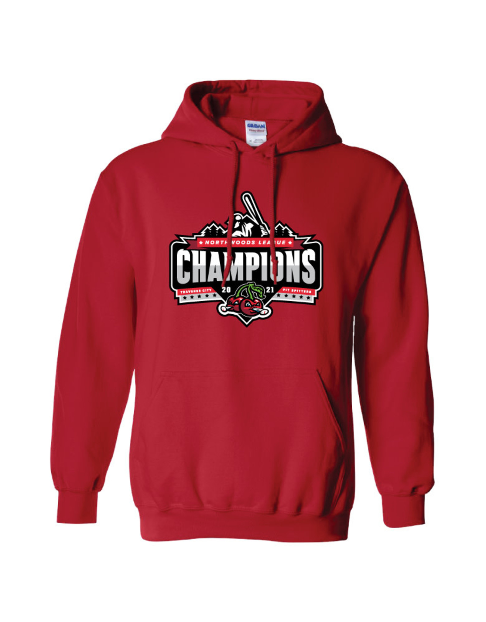 3021 Champions Red Hoodie