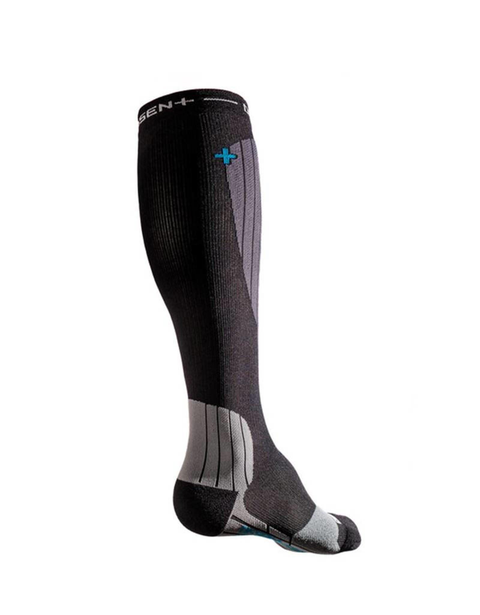 Bas Dissent Ski GFX Hybrid protect Compression Socks
