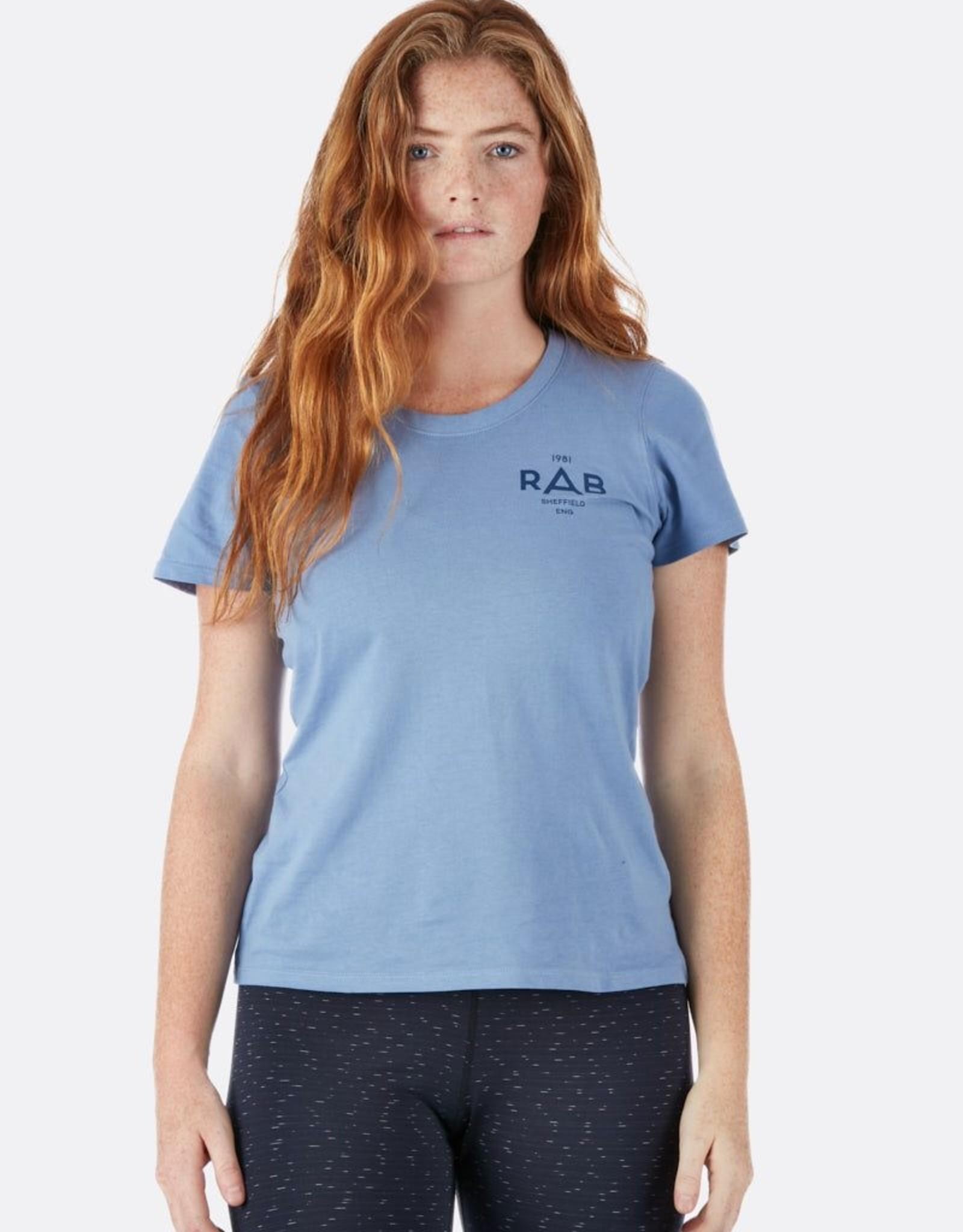 rab T-Shirt Rab Stance Geo Femme