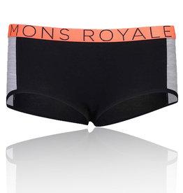 Mons Royale Mons Royale Boyleg Noir Gris X-Small
