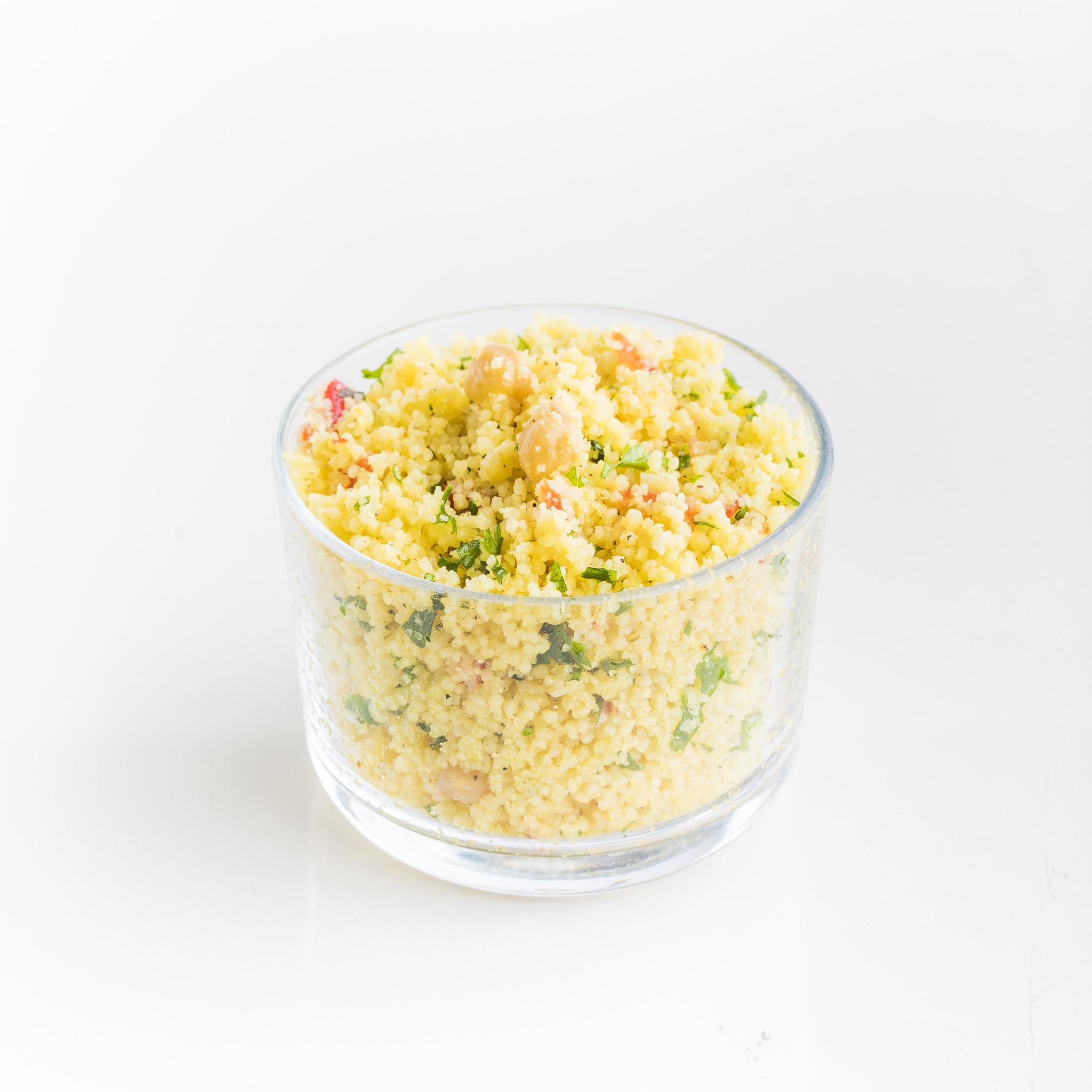 Salade couscous et pois chiche
