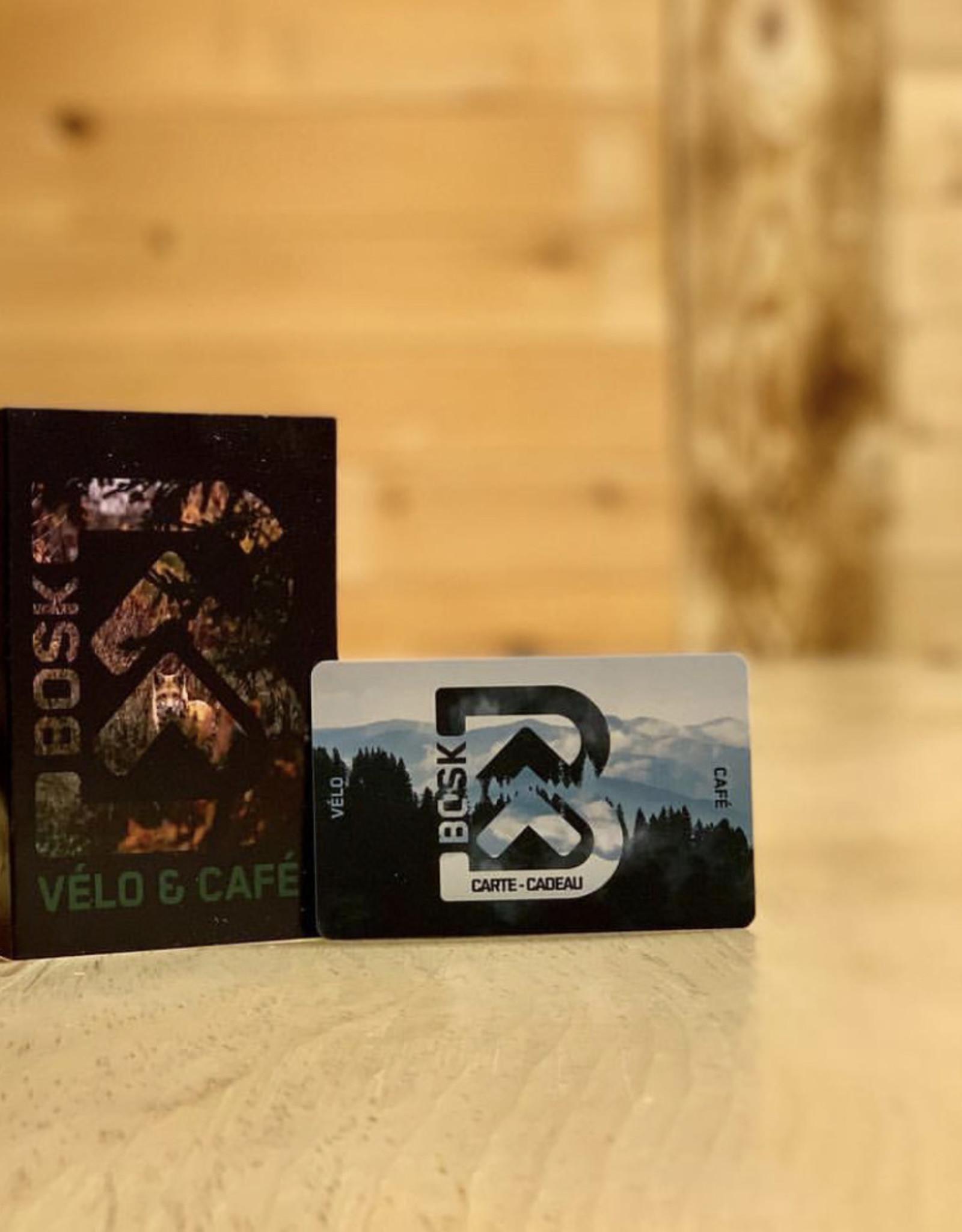 Carte Cadeau Bosk Vélo Café