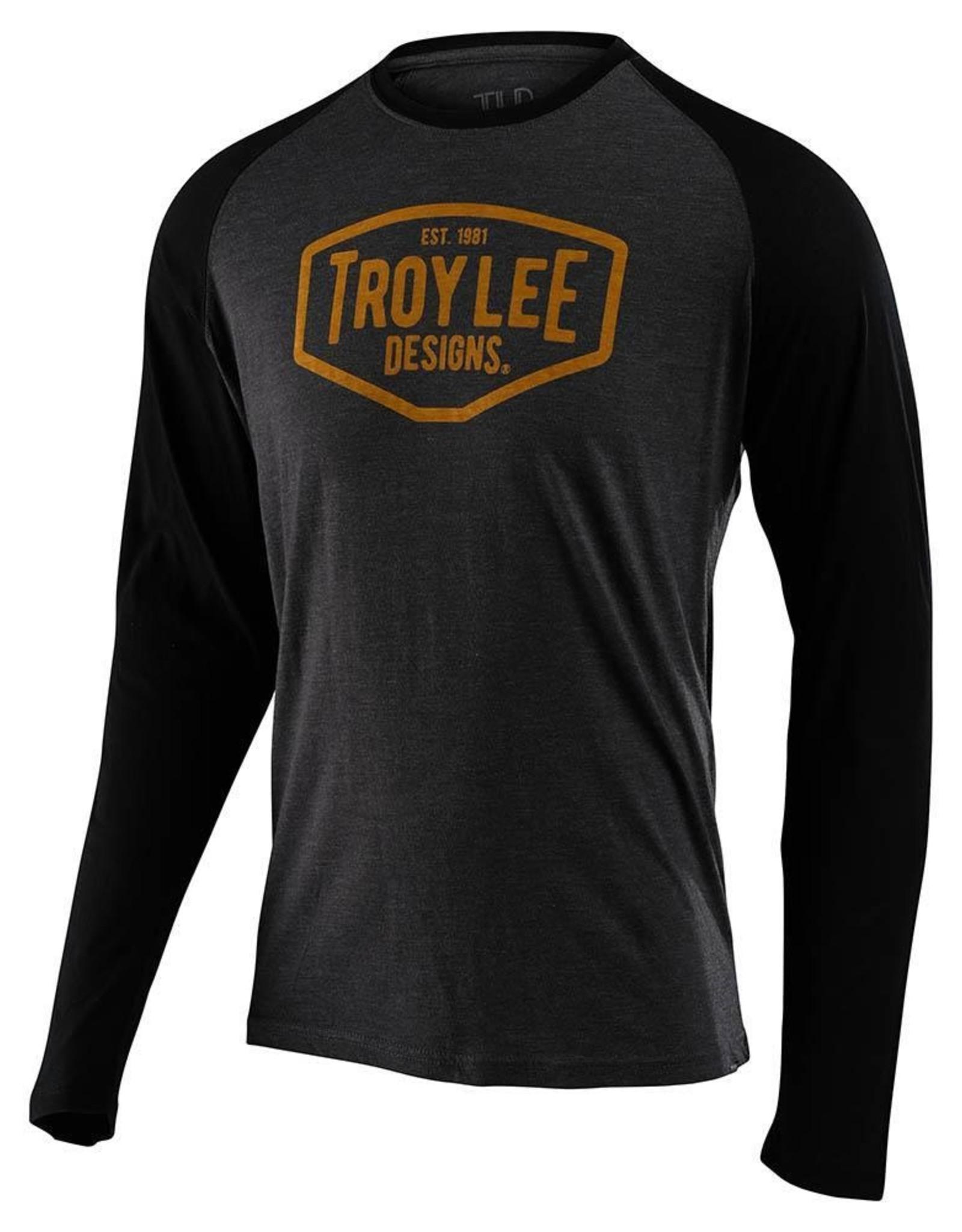 Troy Lee Designs Chandail Troy Lee Designs Motor Oil Raglan LS