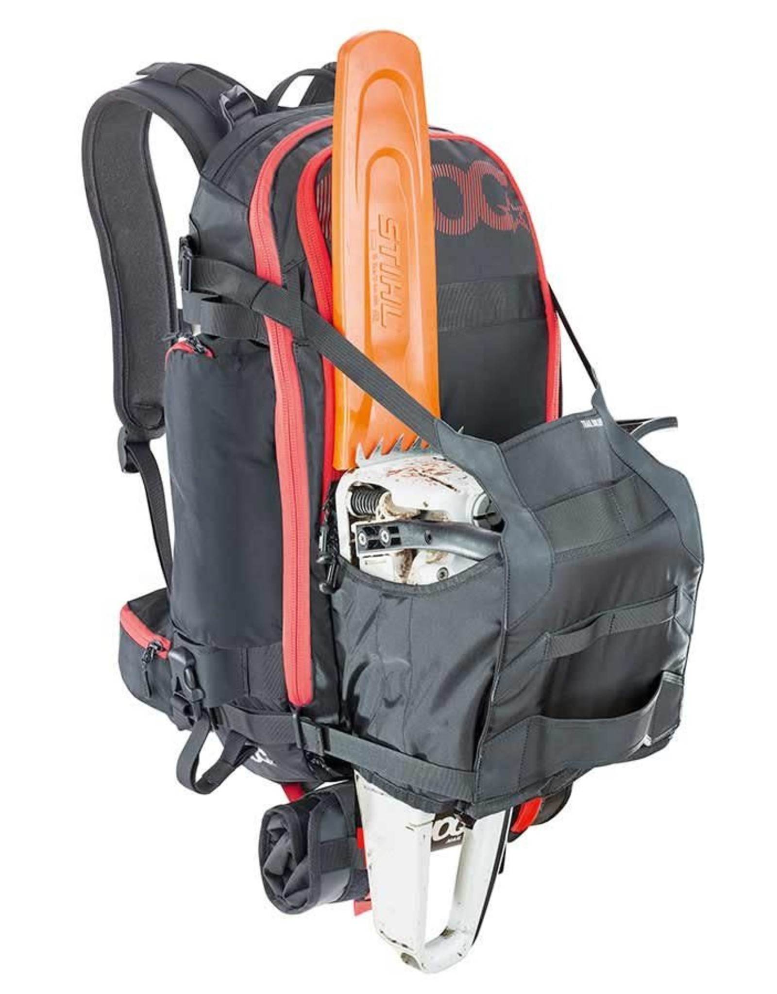 Evoc EVOC, Trail Builder Technical Performance, Sac a dos, Noir