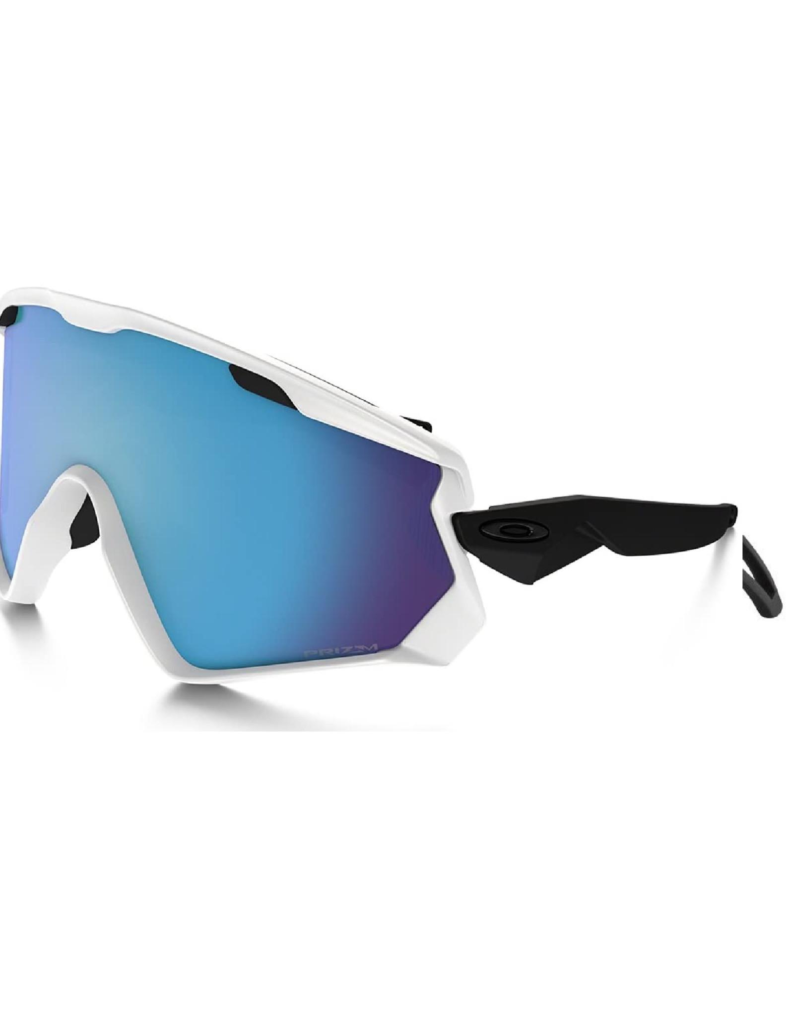 Oakley Lunette Oakley Wind Jacket 2.0 Matte White W/Prizm Snow Sapphire