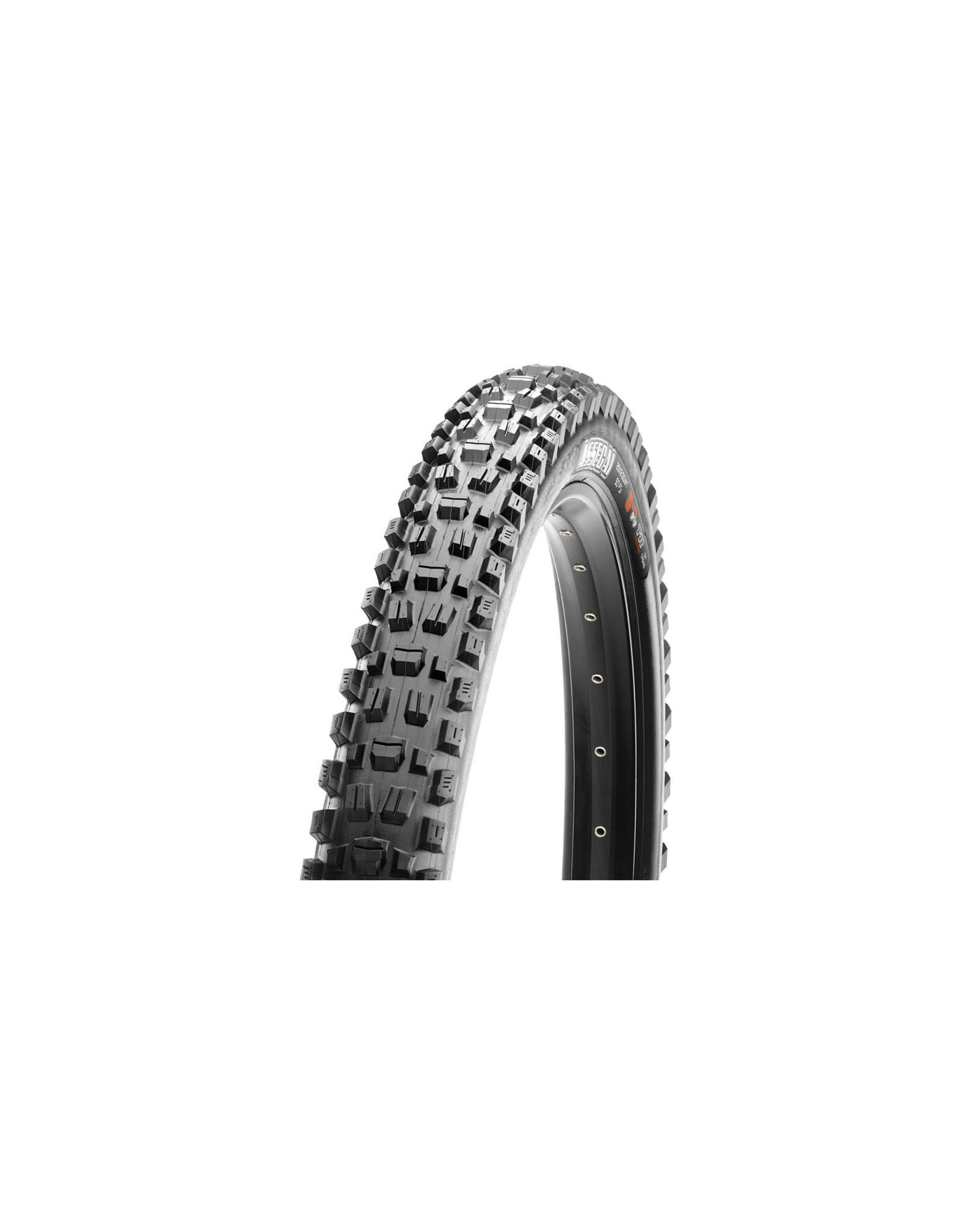 Maxxis Maxxis, Assegai, Tire, 29''x2.50, Folding, Tubeless Ready, 3C Maxx Grip, 2-ply, Wide Trail, 60TPI, Black